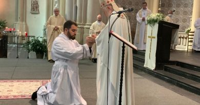 Ordination diaconale d'Antonio (27 juin 2020)
