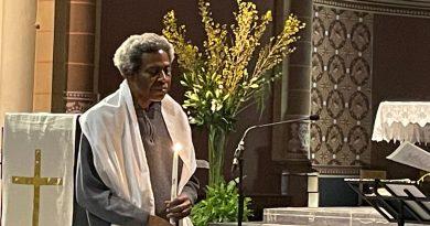 Célébration Baptême-Confirmation de Joseph (3 avril 2021 à l'église St-Gilles)