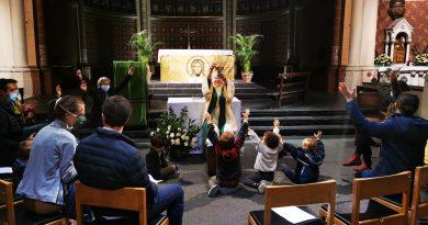 Messe des Tout-Petits (18 octobre 2020 à 17h à l'église St-Gilles)