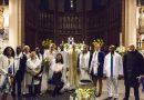 Baptême de 11 adultes lors de la Vigile Pascale (31/03/2018)