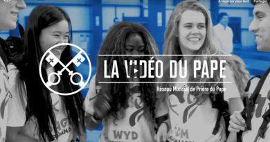 La vidéo du Pape (Les jeunes à l'école de Marie – Janvier 2019)